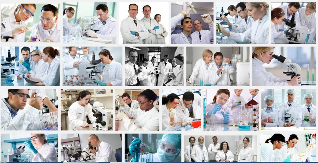 Search engine result for images of 'scientist'