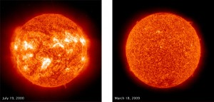 UV images of the sun